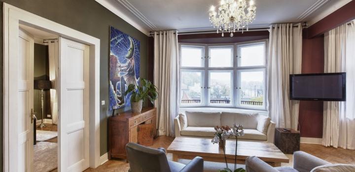Pronájem luxusního bytu Vyšehrad