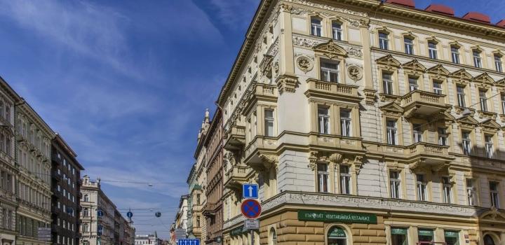 Luxusní loftový byt 69m na Praze 2