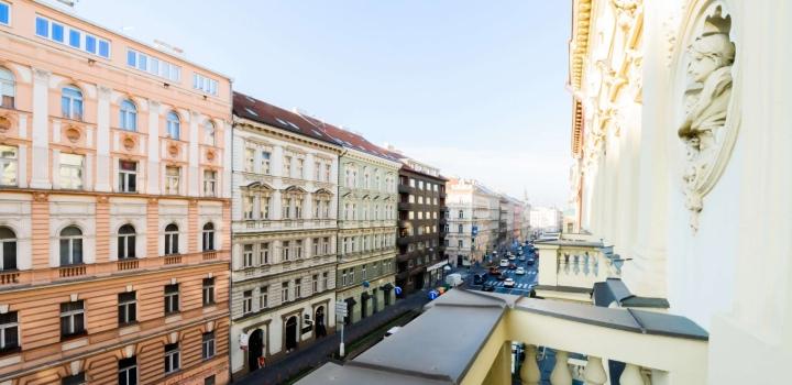 Luxusní loftový byt 42m na Praze