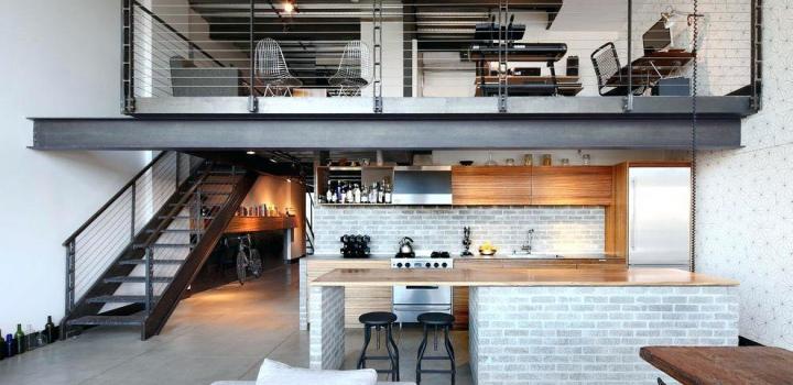 Loftový byt na Praze 4 - 153m