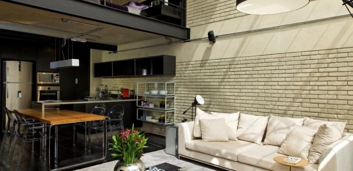 Luxusní loftový byt na prodej na Praze 4 - 78m