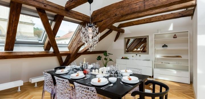 Luxusní byt na pronájem Praha 1 - Malá Strana