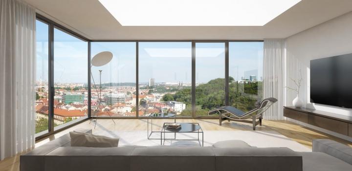 Luxusní byt na prodej - Praha 5 - Smíchov