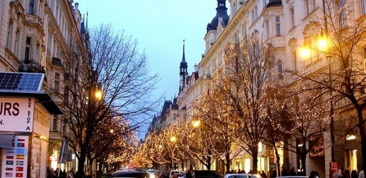 Luxusní byt v centru Prahy 221m