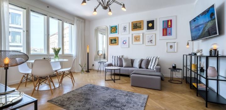 Pronájem luxusního bytu Praha 1 - 55m