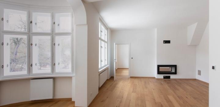 Luxusní byt ve vile Praha 5 - 94m