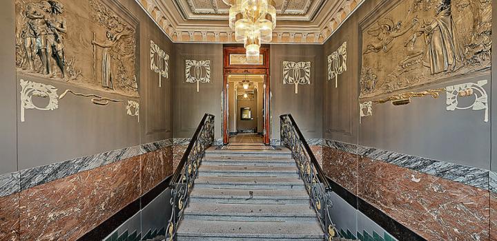 Luxusní byt Janáčkovo nábřeží 107m