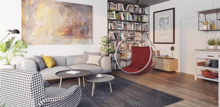 Luxusní byt na prodej Smíchov - Praha 5 - 93m