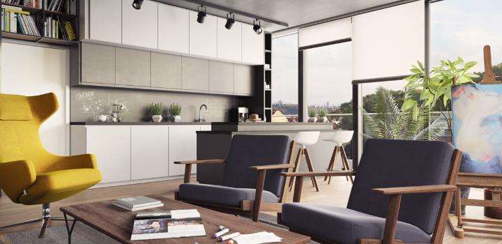 Luxusní byt na prodej Smíchov - Praha 5 - 155m