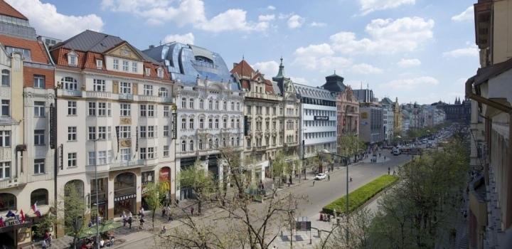 Luxusní byt k pronájmu Praha 1 - 164m