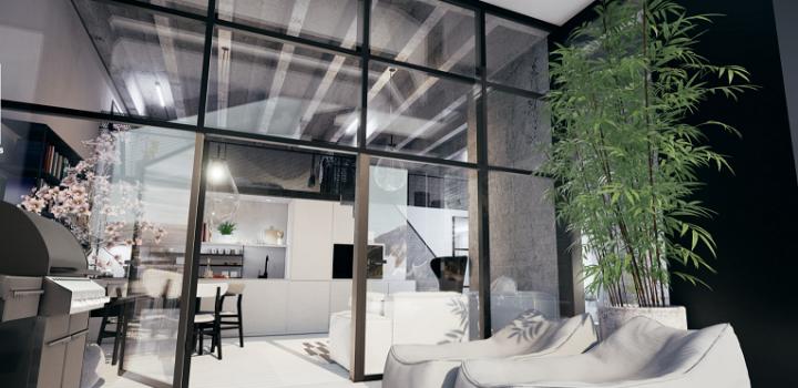 Loftový byt na prodej - Praha 4 - Modřany