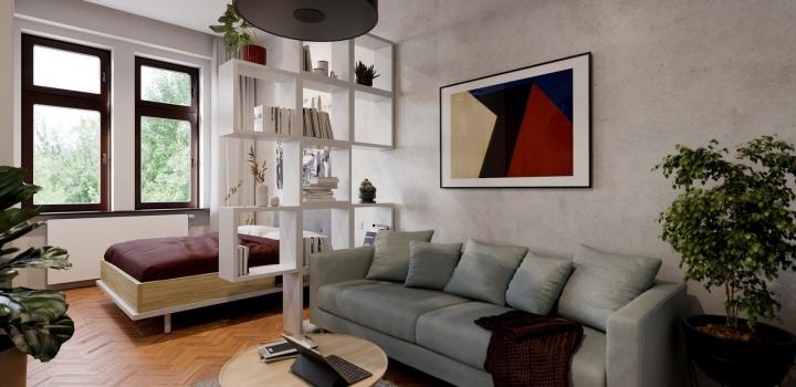 Byt na prodej - Praha 8 - Libeň - 35m