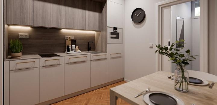 Byt na prodej - Praha 8 - Libeň - 60m
