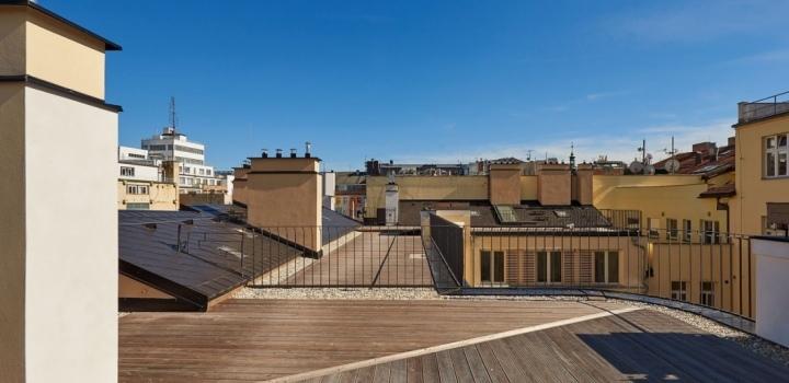 Luxusní byt Petrské náměstí 281 m