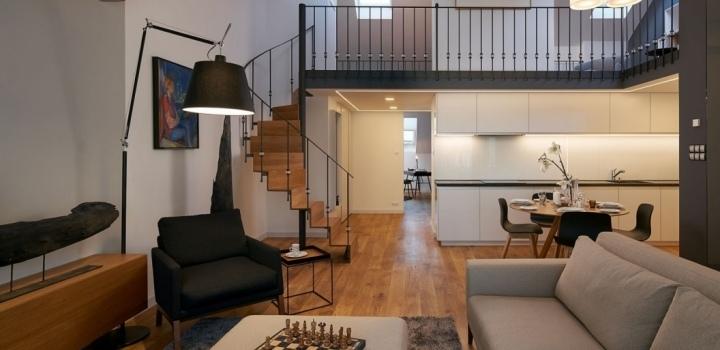 Luxusní byt Petrské náměstí 131m