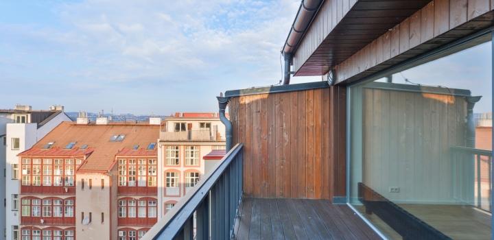 Prodej bytu s terasou Praha 7 - Bubeneč - 130m