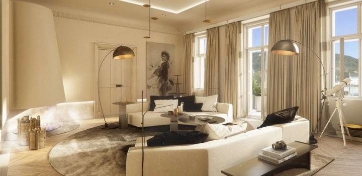 Luxusní byt na Smetanově nábřeží 164m
