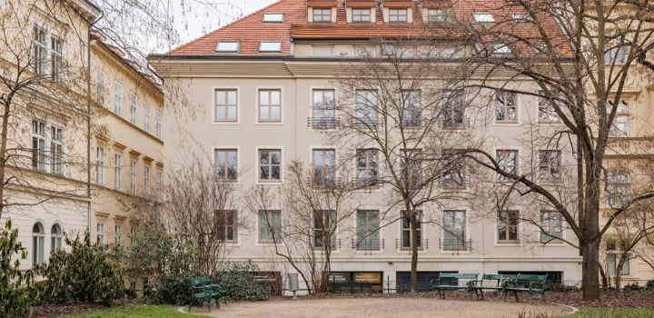 Luxusní kancelář na prodej, Praha 1 - 209m2
