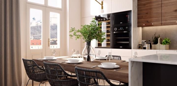Luxusní byt na Praze 3 - 128m