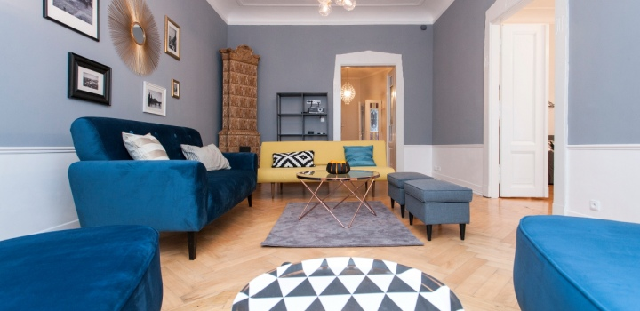 Luxusní byt na pronájem Nové Město - 117m