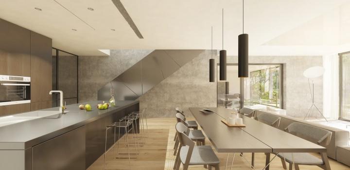 Luxusní byt na prodej - Praha 5 - Smíchov 242m