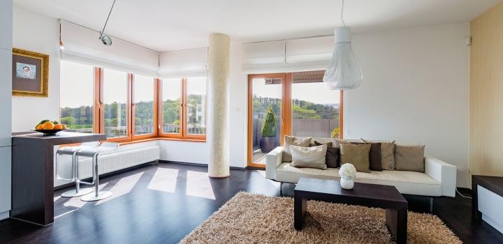 Pronájem luxusního bytu s terasou - Praha 5