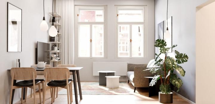 Luxusní byt na prodej Praha 3 - 73m