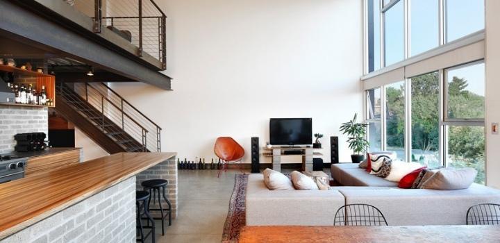 Luxusní loftový byt na Praze 4 - 41m