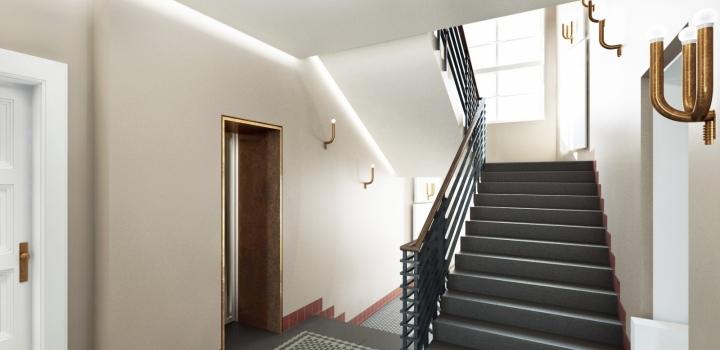 Luxusní mezonetový byt na prodej Praha 1