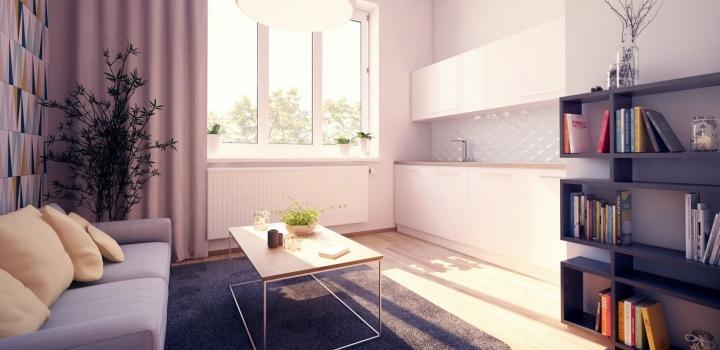 Luxusní byt na prodej Praha 8 - 45m