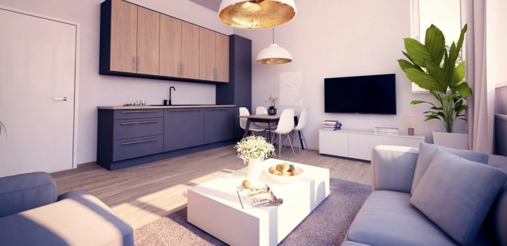 Luxusní byt na prodej - Praha 8 - Libeň - 45m