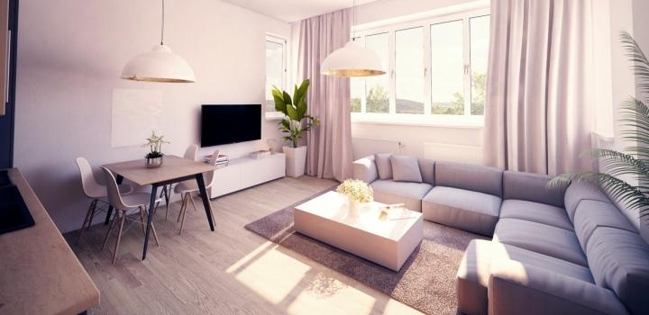 Luxusní byt k prodeji - Praha 8 - 88m