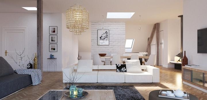 Luxusní byt Nové Město 170m