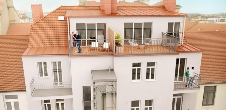 Mezonetový byt na prodej Praha 7 - 90m
