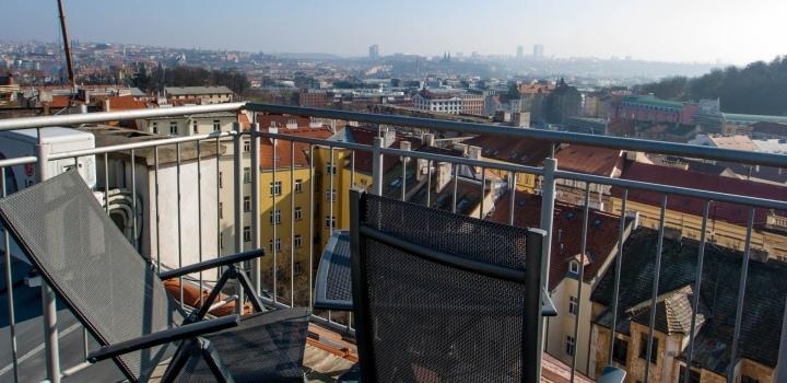 Mezonetový byt s terasou 117m