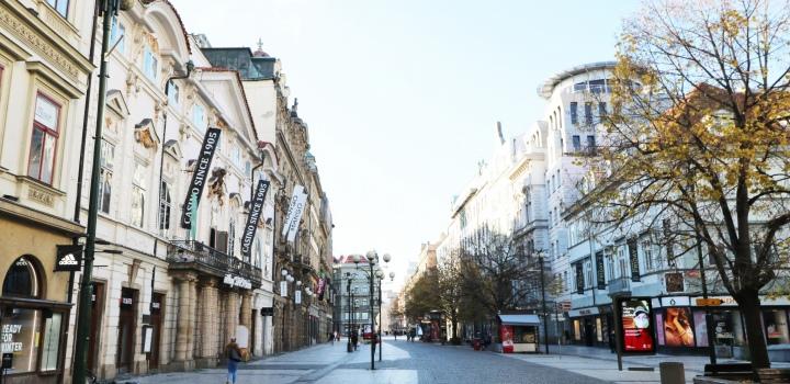 Kancelář k pronájmu v centru Prahy - 215m
