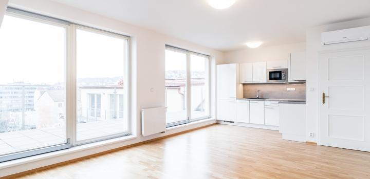 Luxusní byt s terasou Praha 5 - 108m