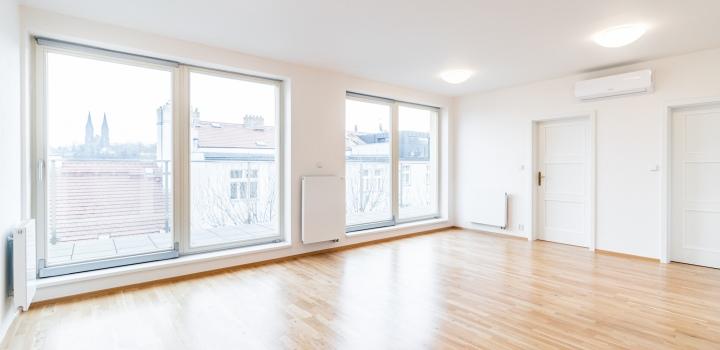 Luxusní byt s terasou Praha 5 - 78m