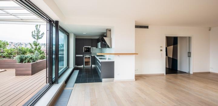 Luxusní penthouse se saunou a vířivkou