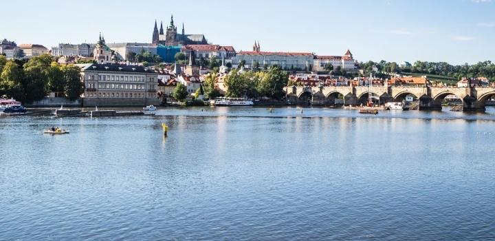 Luxusní byt s výhledem na hrad Smetanovo