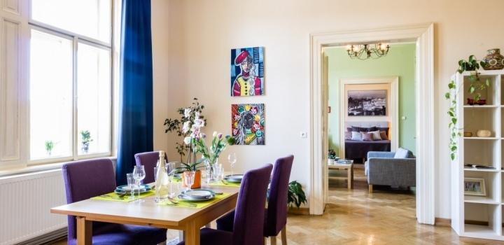 Luxusní byt s výhledem na Hrad 164m