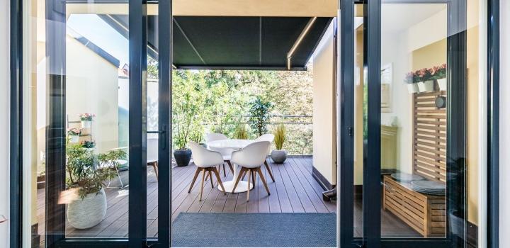 Luxusní penthouse na pronájem na Vinohradech