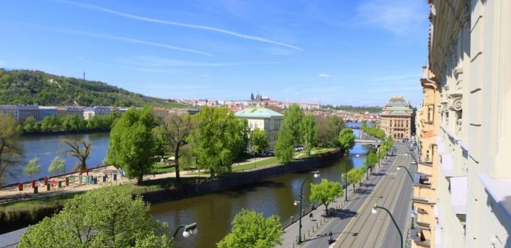 Luxusní byt s výhledem na Pražský hrad 309m