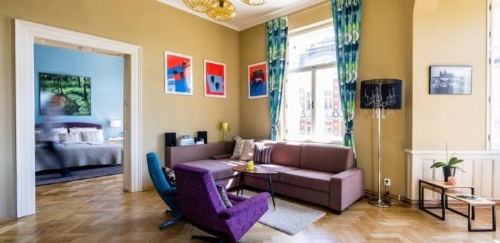 Luxusní byt s výhledem na Hrad 145m