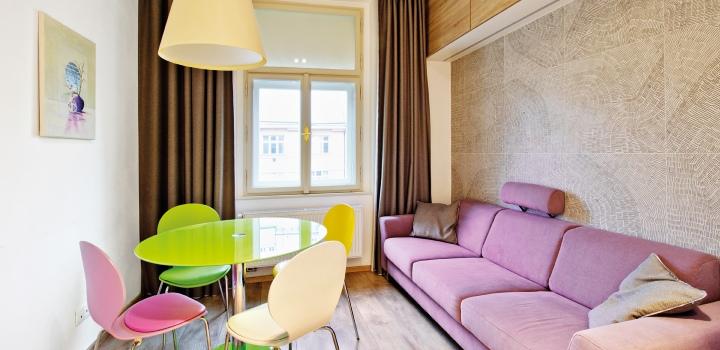 Luxusní byt na pronájem Praha 1 - 92m