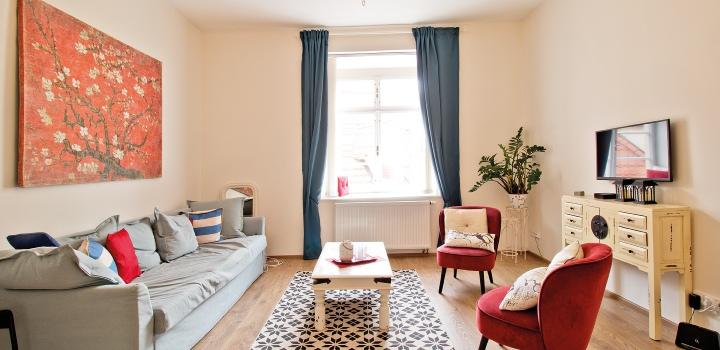 Luxusní byt na prodej na Praze 1-92m2