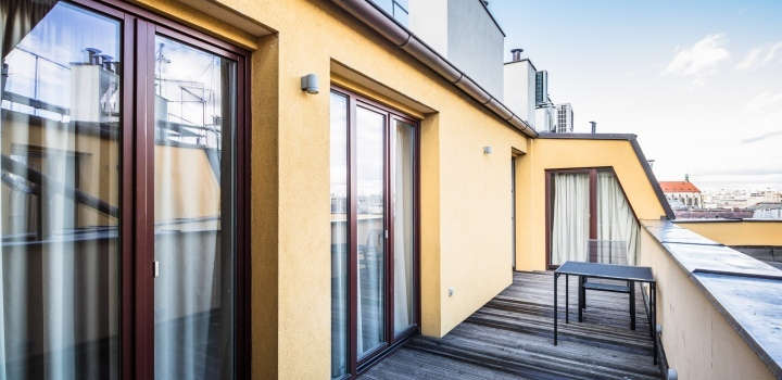 Luxusní byt s terasou Praha 1 - 208m