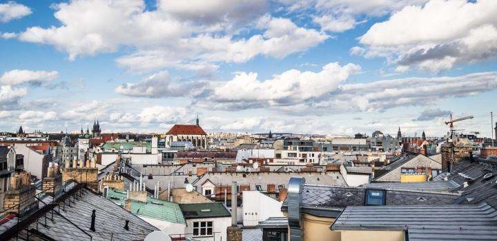 Luxusní byt s terasami Praha 1 - 198m