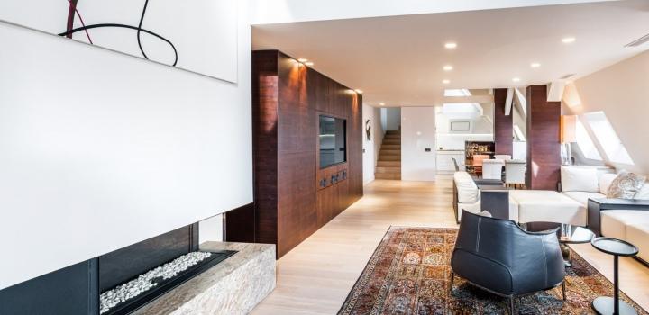 Penthouse s výhledem na Hrad na prodej - 288m