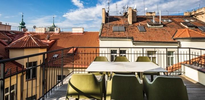 Luxusní byt s terasou Praha 1 - Nové Město